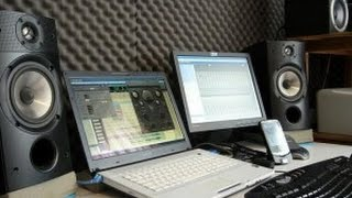 getlinkyoutube.com-Estudio de grabación casero básico -  Recording Studio