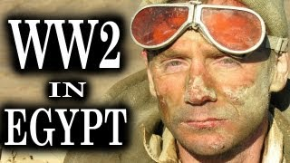 getlinkyoutube.com-Fight for Egypt - WW2 Battle Scenes | Combat Footage | British vs Axis Forces in Africa | 1943