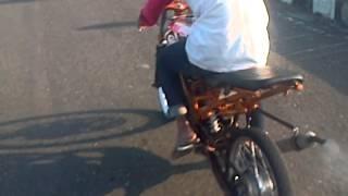 drag race joki kecil ninja 150cc sijago kebumen