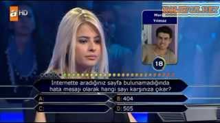 Kim milyoner olmak ister 204. bölüm 12.04.2013 Hilal Erdem