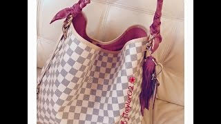 getlinkyoutube.com-Newly released Louis Vuitton Delightful Damier Azur
