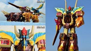 getlinkyoutube.com-[TMT][285] Review DX Chogokin GaoGod! DX ガオゴッド! Hyakujuu Sentai Gaoranger! 百獣戦隊ガオレンジャー