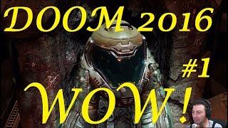 O prima impresie a jocului DOOM 2016 -Un JOC Super !!!
