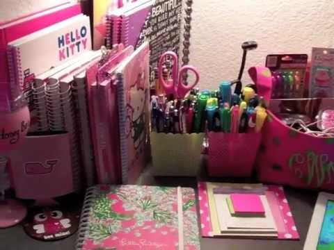 Back To School: Desk Organization -vO3HbYpeuiw