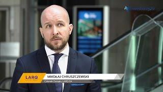 LARQ SA, Mikołaj Chruszczewski - Członek Zarządu, #48 PREZENTACJE WYNIKÓW