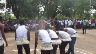 getlinkyoutube.com-Cultural week at the Université de Lomé (Togo). Moba students are dancing  by Issaka Ouro-Wetchire