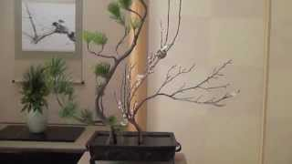 getlinkyoutube.com-How to make an authentic Ikebana 2 いけばな華道遠州