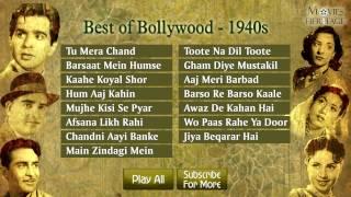 Best Of Bollywood - 1940 || Old Hindi Songs || Jukebox