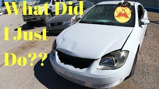 I Really Screwed Up - Copart 2009 Pontiac G5 - It's BAD!