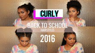 getlinkyoutube.com-BACK TO SCHOOL CURLY HAIRSTYLES: 7 Hairstyle Ideas