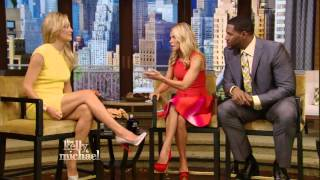 getlinkyoutube.com-Kate Hudson - nice legs - Kelly Ripa show