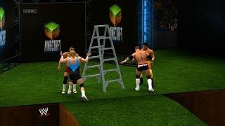 getlinkyoutube.com-Dixieland - Reverse Battle Royal - Lumberjunk Match - WWE 2K14 Minecraft (nL stream)