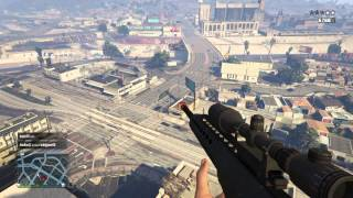 getlinkyoutube.com-Gta V Ps4 Sniping online players