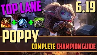 getlinkyoutube.com-Poppy: Learn Why the Pros Love Her! - League of Legends Champion Guide