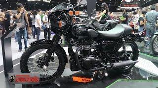 getlinkyoutube.com-W800 + Versys-X300 Kawasaki ถล่มแหลก 8 รุ่น ในเอ็กซ์โป 2016 : motorcycle tv