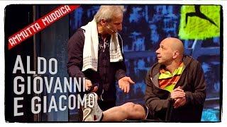 getlinkyoutube.com-I Maratoneti (1 di 4) - Ammutta Muddica | Aldo Giovanni e Giacomo