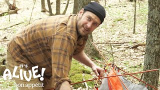 Brad Makes Mistakes | It's Alive Camping Outtakes | Bon Appétit width=