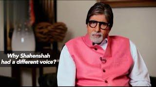 Amitabh Bachchan talking about shahenshah movie