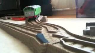 getlinkyoutube.com-Thomas and the Magic Railroad Chase (Trackmaster)