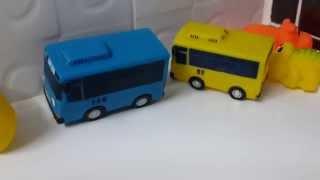 getlinkyoutube.com-꼬마버스 타요 욕실 물총 장난감 영상 타요 라니 시즌1 시즌2 시즌3 Tayo the Little Bus - Buri Toy Play