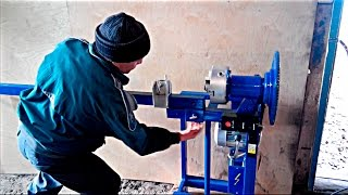 Самодельный электрический станок для холодной ковки. Forging