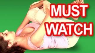 getlinkyoutube.com-Yoga To Reduce Gas Trouble