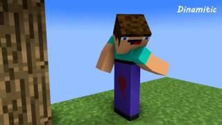 getlinkyoutube.com-Noob Life - Minecraft Animation (SkyBlock)