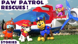 getlinkyoutube.com-Paw Patrol Stop Motion Rescues with Thomas and Friends Minions Disney Cars and Surprise Eggs TT4U