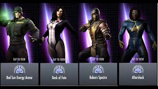 getlinkyoutube.com-23.INJUSTICE UNRELEASED CHARACTERS SPECIAL AND SUPER MOVE