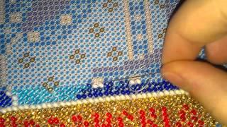 getlinkyoutube.com-Закрепление нити в вышивке бисером!