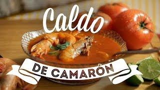 getlinkyoutube.com-¿Cómo preparar Caldo de Camarón? - Cocina Fresca
