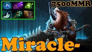 getlinkyoutube.com-Dota 2 - Miracle- 7500 MMR Plays Magnus vol 2# - Ranked Match Gameplay