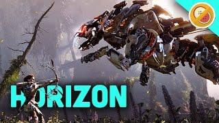 getlinkyoutube.com-HUNTING ROBOT DINOSAURS! | Horizon Zero Dawn (PS4 Pro Gameplay)