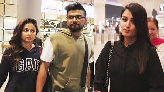 Hina Khan Spotted With Boyfriend Rocky Jaiswal At Mumbai Airport | Anita Hassanandini
