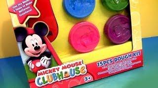 getlinkyoutube.com-Play Doh A Casa Do Mickey Mouse Play Dough Kit Disney Junior Mickey Mouse Clubhouse 15 Jogos