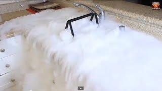 getlinkyoutube.com-2 Pounds of Dry Ice Experiment