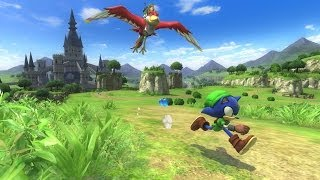 getlinkyoutube.com-@옆집소년@ 소닉 로스트 월드 - 젤다의 전설 act 11 맛보기 플레이 (Sonic Lost World Wii U)