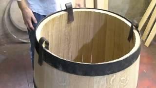 getlinkyoutube.com-HOW wine barrels are made and toasted