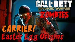 getlinkyoutube.com-CoD Zombies EASTER EGG ORIGINS on CARRIER LIVE! ★ Call of Duty: Advanced Warfare Zombies