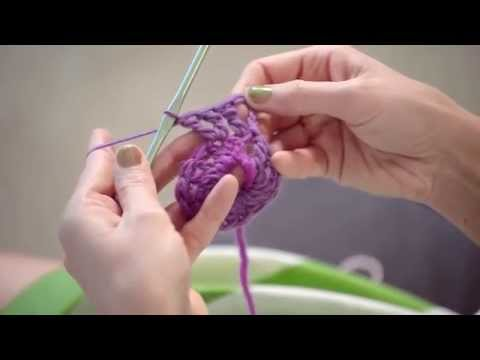 How to Work a Triple Crochet Stitch