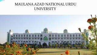 getlinkyoutube.com-MANUU Tarana (Anthem of Maulana Azad National Urdu University) Complete Anthem