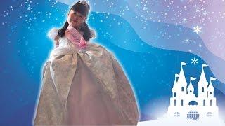 getlinkyoutube.com-シンデレラ ♡ ビビディ・バビディ・ブティック Bibbidi Bobbidi Boutique Disney Princess Cinderella ディズニープリンセス