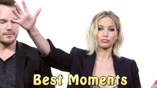 getlinkyoutube.com-Jennifer Lawrence And Chris Pratt ★ Best Funniest Moments