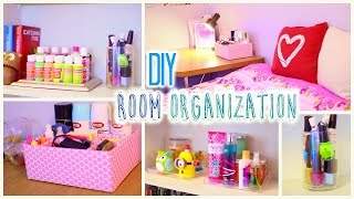 getlinkyoutube.com-DIY Room Organization and Storage Ideas | How to Clean Your Room