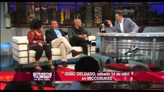 getlinkyoutube.com-Alexis Valdés se enciende con la visita del actor cubano Andy García y el cantante Isaac Delgado