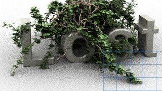 getlinkyoutube.com-Photoshop CS6 - 3D - Ivy Generator