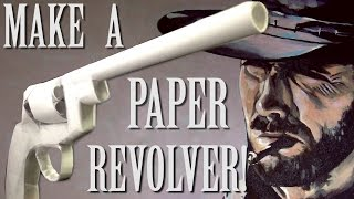 getlinkyoutube.com-How to make a Paper Revolver