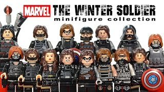 getlinkyoutube.com-Awesome Winter Soldier Minifigure Collection LEGO® Marvel Super Heroes