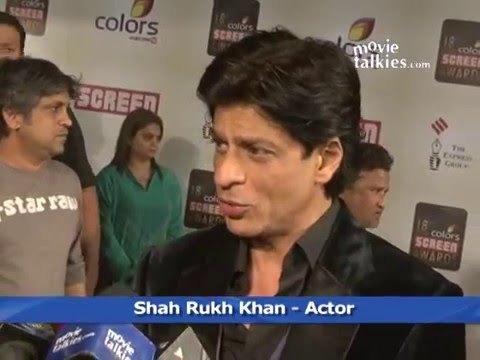 Shahrukh Khan at the 18th Annual Colors Screen Awards 2012