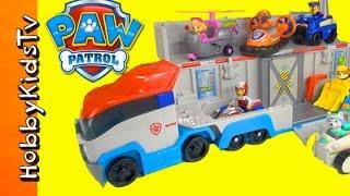 getlinkyoutube.com-Paw Patrol Toy Review Adventure Patroller  Rescue! By HobbyKidsTV